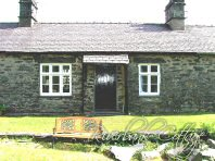 The sun does shine in Capel Curig, look the cottage in summer! - Riverbank Cottage, Self Catering Holiday Cottage, Capel Curig, Snowdonia National Park, North Wales, UK, TheCanoeMan