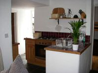 The fully equipped kitchen - Riverbank Cottage, Self Catering Holiday Cottage, Capel Curig, Snowdonia National Park, North Wales, UK, TheCanoeMan